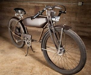 C-271 Hand-built electric bicycle by David Farish