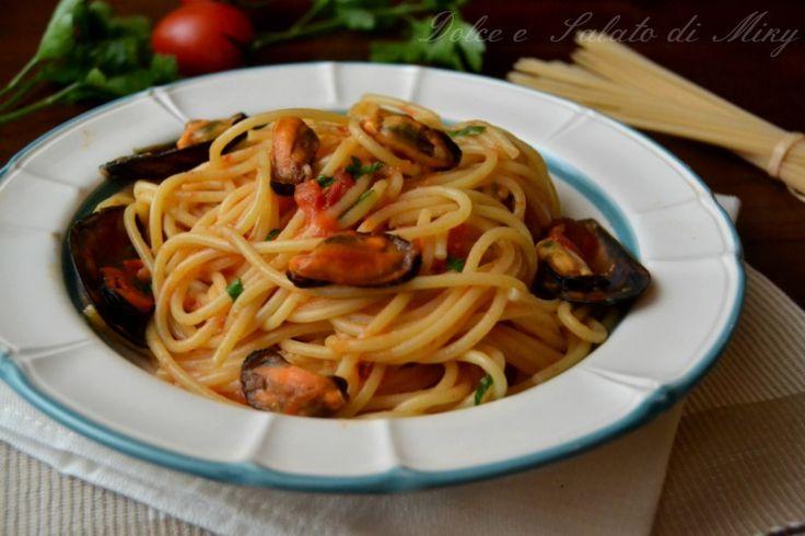 ricetta spaghetti con le cozze| Dolce e Salato di Miky