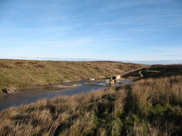 The abandoned  Blubberhouses quarry on Kex Moor which was opened with much…