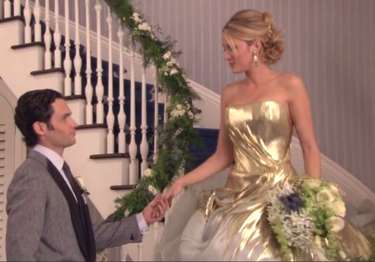 17 best images about gossip girl wedding dresses on for Last season wedding dresses