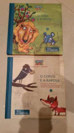 Livros: O Corvo e a Raposa e O Leão e o Rato - Fábulas de La Fontaine Costa Da…