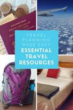 Travel Planning made Easy! Essential Travel Resources to he;p you plan every step of your journey, from a weekend away, a holiday or long term travel!
