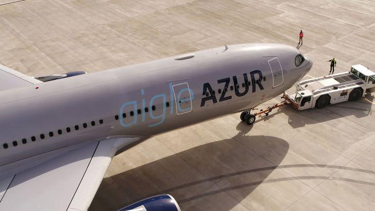 Aigle Azur dévoile une nouvelle livrée
