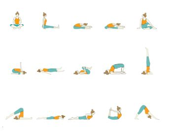 pin on beginner yoga sequences