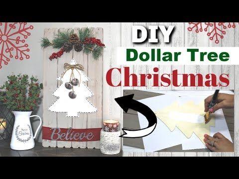 DIY DOLLAR TREE CHRISTMAS DECOR 2019 | Dollar Tree…