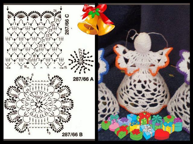 Crochet para Ti: Angel de la guarda...