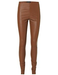 Elenasoo læder leggings By Malene Birger leggings