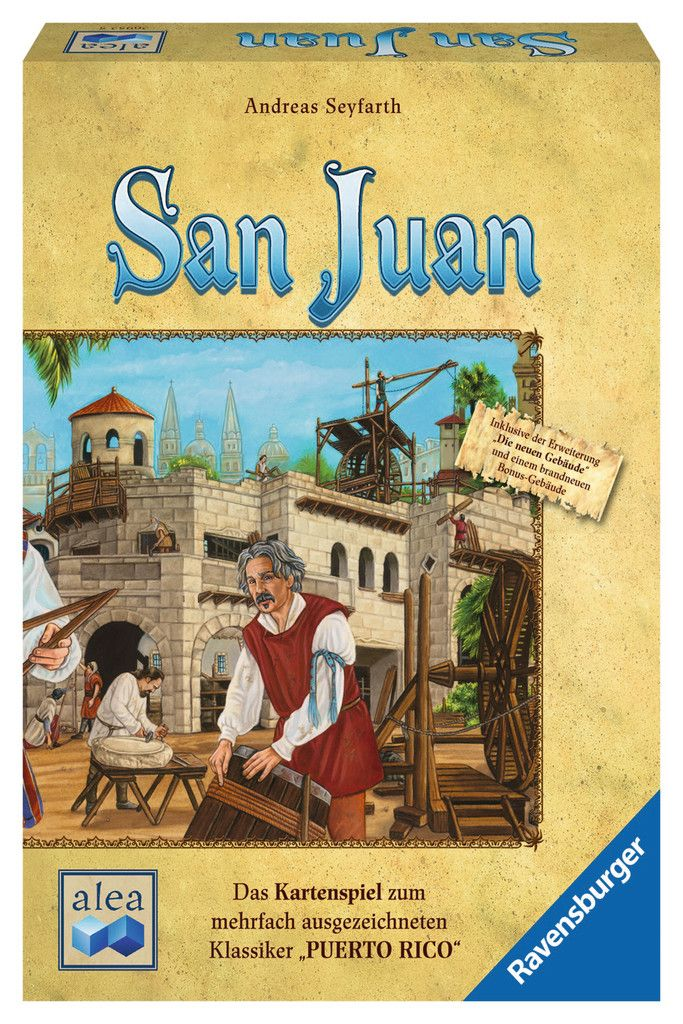 San Juan | Erwachsenenspiele | Spiele | Produkte | San Juan