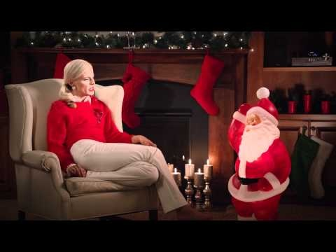 target christmas commercial lady
