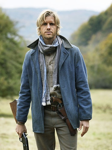 "Matt Barr, ""Hatfields and McCoys"". I'm a McCoy, but I would switch sides!"