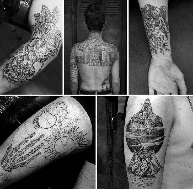 Гид по гравюрному стилю татуировок. Изображение №4.