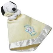Baby Snoopy Cuddle Puppet...  I would've been the happiest baby on Earth if I've had this...