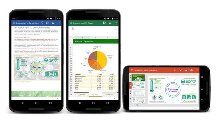 Microsoft Office (Word, Excel et PowerPoint) en version finale pour les smartphones Android - http://www.frandroid.com/applications/291413_microsoft-office-word-excel-powerpoint-version-finale-smartphones-android  #ApplicationsAndroid, #Microsoft, #Productivité