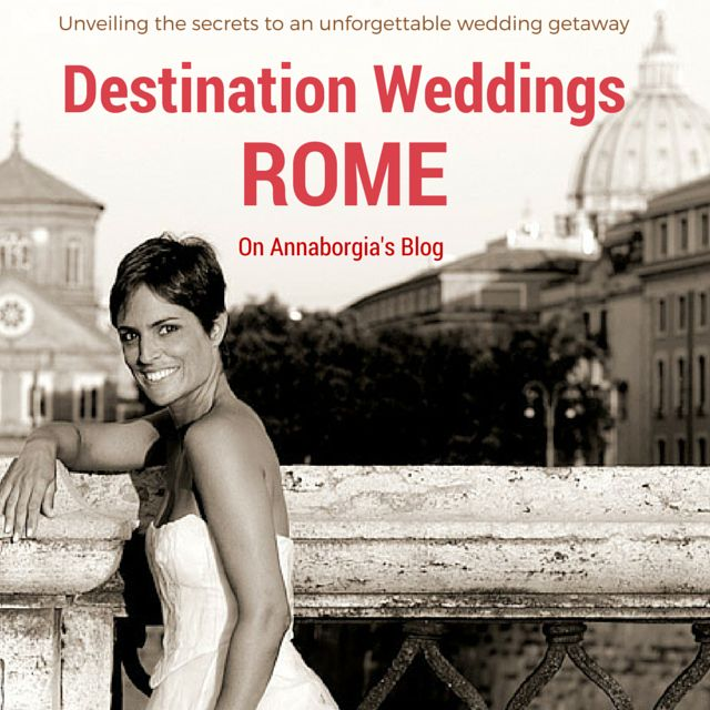 Discover the latest destination wedding trends in Rome with A Lovely Day Wedding Planning http://www.annaborgia.com/destination-weddings/destination-weddings-rome/