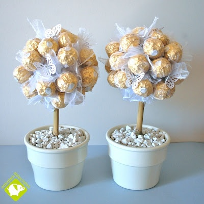 sweet trees - a table decoration