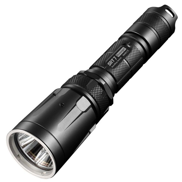 The Nitecore SRT Tactical Flashlight | 960 Lumens | Secondary RGB LEDs | Powerful, Reliable Torch