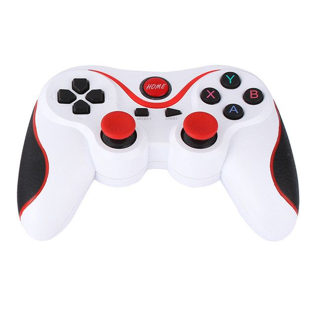 Design T3+ Wireless Bluetooth V3.0 Gamepad Game Remote Controller Joystick Lightweight Structure for Android Smartphone Box L3FE