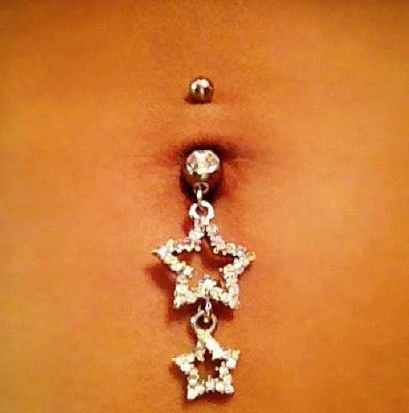 Star Belly Button Ring