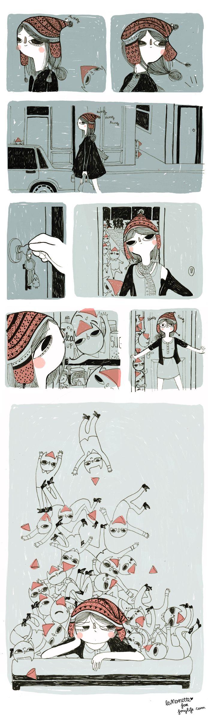Comic - La Nonette