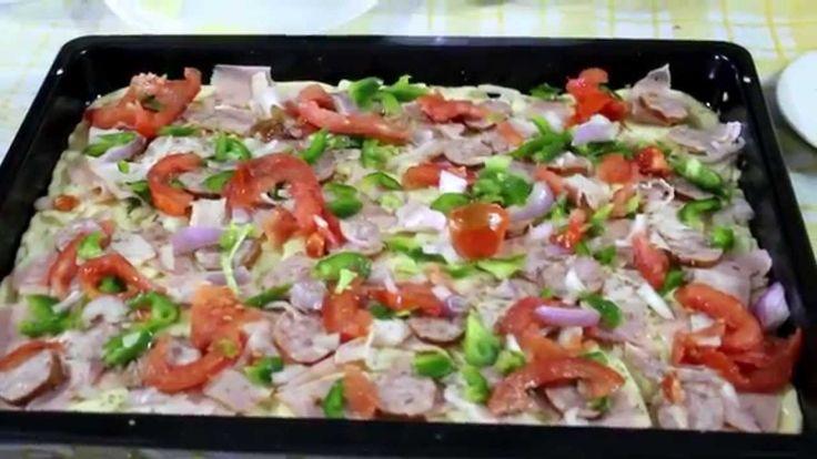 Πως να φτιάξεις σπιτική πίτσα (traditional pizza)