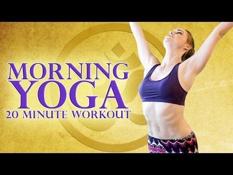 Beginners Morning Yoga Workout 20 Minute Stretch For Energy & Weight Loss - Joy of Yoga - YouTube