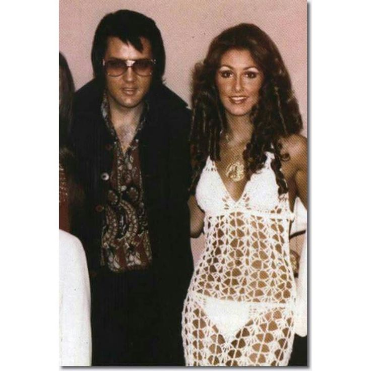 #ElvisPresley and Linda Thompson #Happybirthday #May23 #LindaThompson #American #beautyqueen #MissShelbyCounty #1969 #songwriter #lyricist #actress #1970s by vintagerotica from #instagram