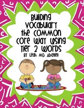 Build your students vocabulary (the Common Core Way) using things that young kiddos can relate to - weather and feelings!  Huge packet includes attribute writing, role playing cards, journals, synonym/antonym work and MORE!