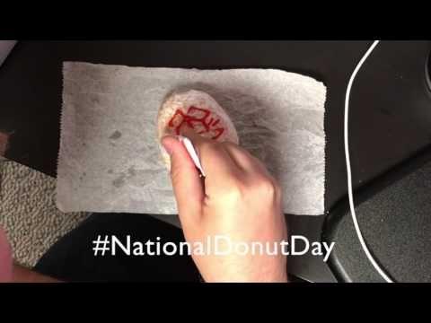 (1) National Donut Day 2017 - YouTube