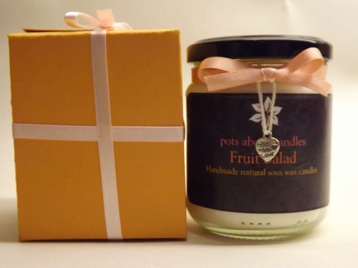 Do you know someone who has a sweet tooth? Get the fragrance of old fashioned fruit salad chews. Just £9.00 when you buy the candle and handmade gift box at www.potsaboutcandles.com. Get gifts for all the family and take advantage of our FREE postage offer on orders over £30.00. More help as Christmas approaches.