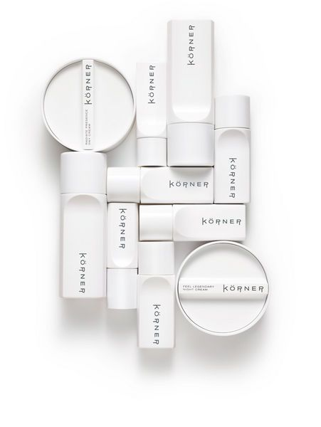 """Körner - A premium brand from a family with over a century of skincare experience. Soon after its launch Körner was awarded """"Best New Beauty Product"""" by Wallpaper* magazine and is now available through Harvey Nichols, Colette, Henri Bendel and other leading stores."""