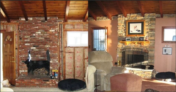 Mantel Brick Fireplaces Refaced Fireplace Comment Refaced Brick