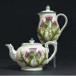 Wemyss Thistle Teapot  Coffee Pot