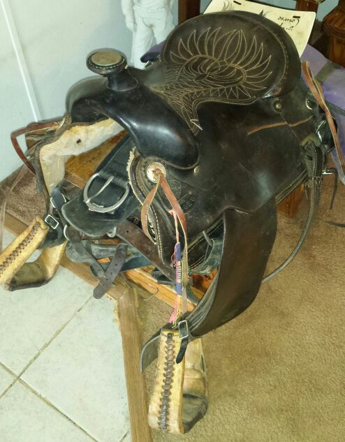 """3 SADDLES Billy Cook Saddle 16-17"""" in Mount Holly, NC (sells for $400)"""