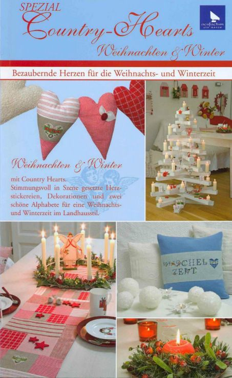 Fabric and Sewing Craft - Patchwork, Cross-stitch and general sewing. Many small and sweet projects. Christmas Theme.
