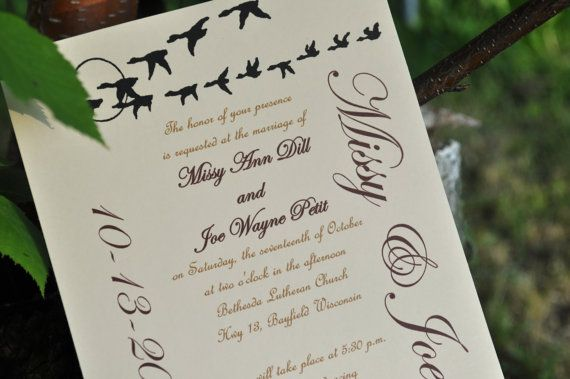 17 best images about duck hunting wedding on pinterest