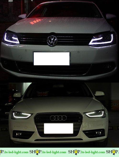 #НОВИНКА #БиксеноновыеФары V2 #VW #Jetta 2012 №1 #sbll #альтернативнаяоптика #ретрофитФар