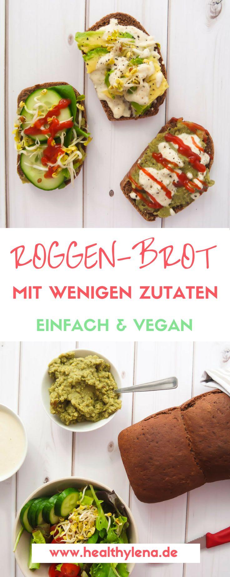 Die gute Brotzeit – kein Wunder, dass wir Deutschen sie so schätzen. Mit meiner Liebe für selbstgebackenes Brot (und den köstlichen Duft in der Küche) bin ich jawohl nicht alleine, oder? Heute habe ich dir daher ein Brot Rezept für ein schnelles & einfaches Roggenbrot mitgebracht. Die Zubereitung für das Roggen-Brot ist super einfach und es werden nur 7 Zutaten benötigt. Es ist zudem vegan, gesund & fettarm!