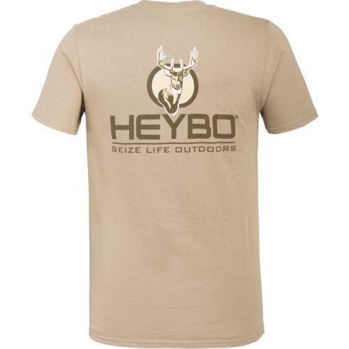 Heybo Men's Pro Performance Deer T-shirt (Beige Or Khaki, Size Medium) - Men's Outdoor Apparel, Men's Outdoor Graphic Tees at Academy Sports