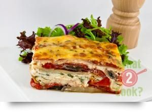 Vegetable Lasagne with Garlic and Basil