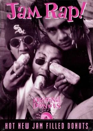 Jam Raps! {Original Foods poster}
