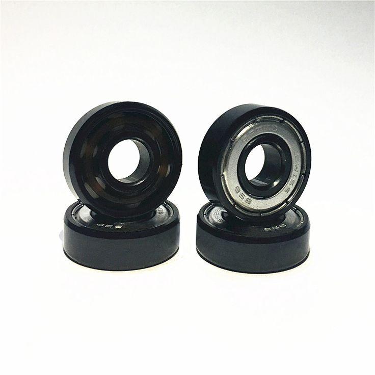 Free Shipping 608Z Ceramic Bearings ABEC-9 Skate Bearing FreeLine Skate Skateboard bearing LongBoard HandSpinner Rodamientos  #Affiliate