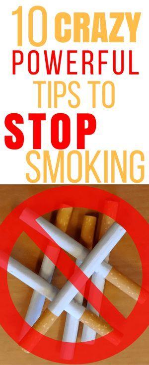 10 powerful tips to stop smoking. Quit smoking. Quit smoking remedies.