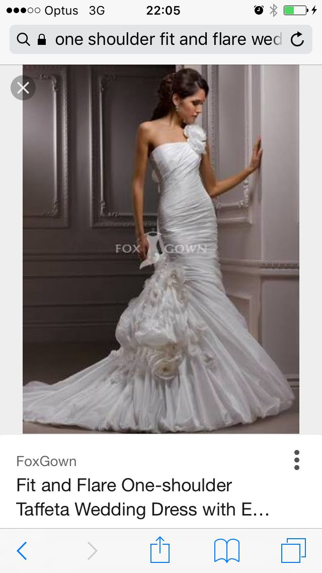 Fox Fit and Flare Wedding Dresses