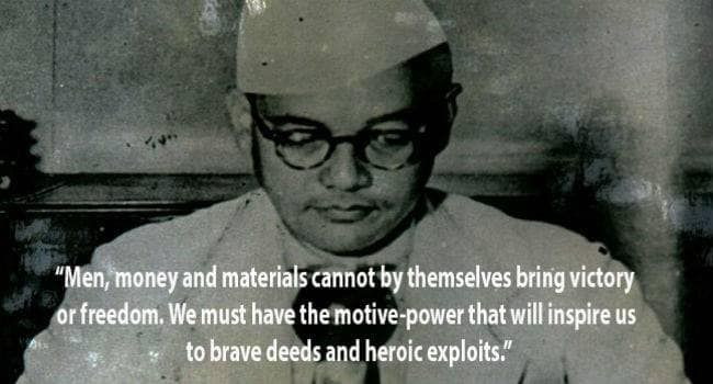 10 inspirational and lesserknown quotes of Netaji Subhas