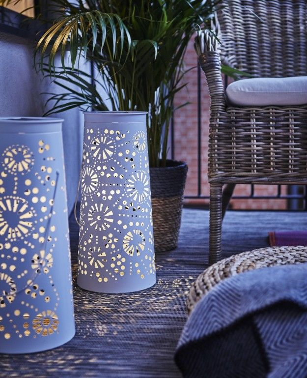 or make your light glow softly - Outdoor Solar Lanterns