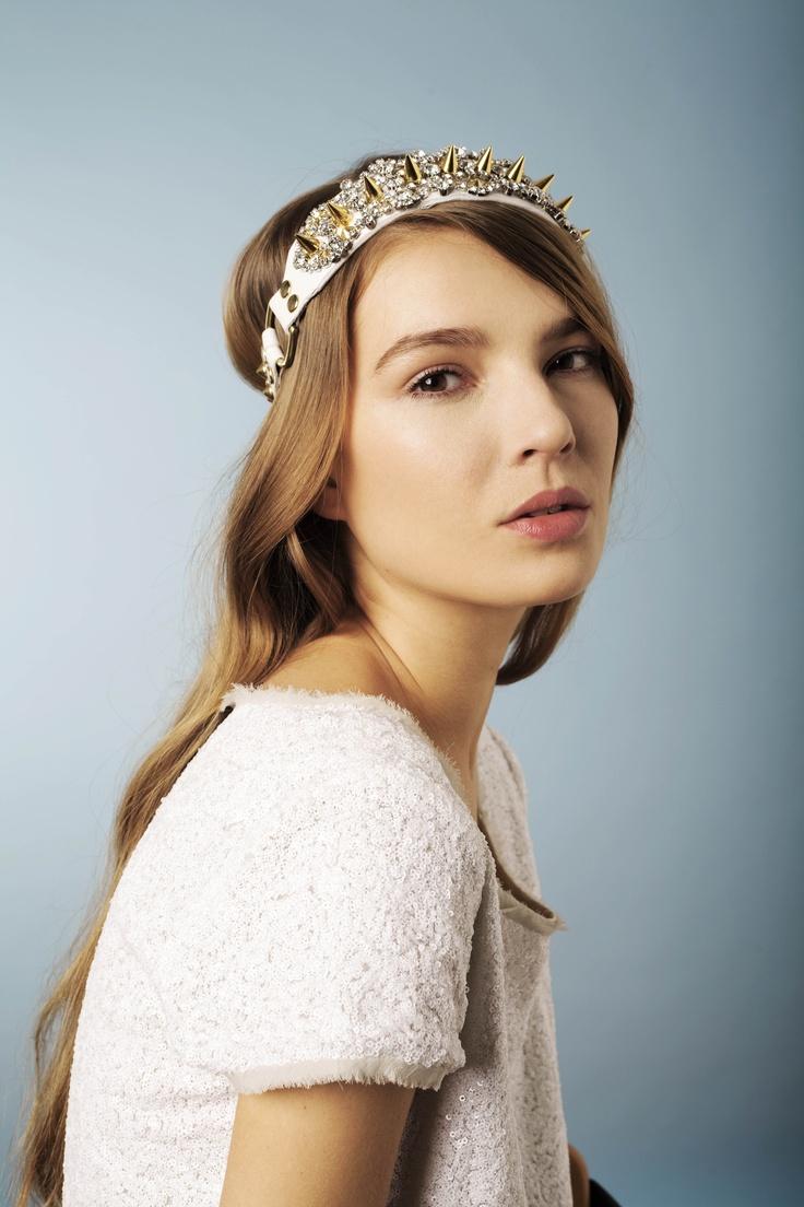 26 best l. headpiece images on pinterest | leather headbands