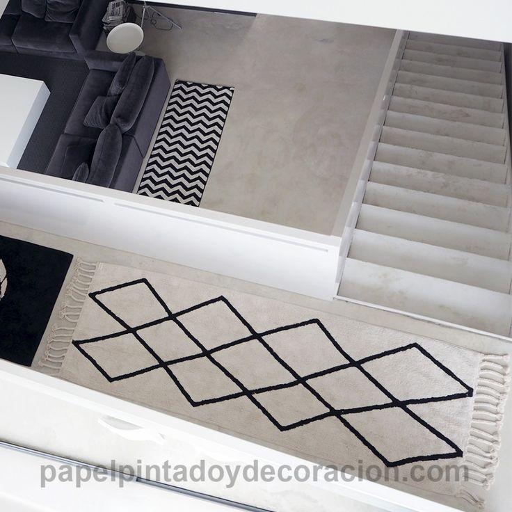 17 mejores ideas sobre alfombras pasillo en pinterest - Alfombra lavable lavadora ...