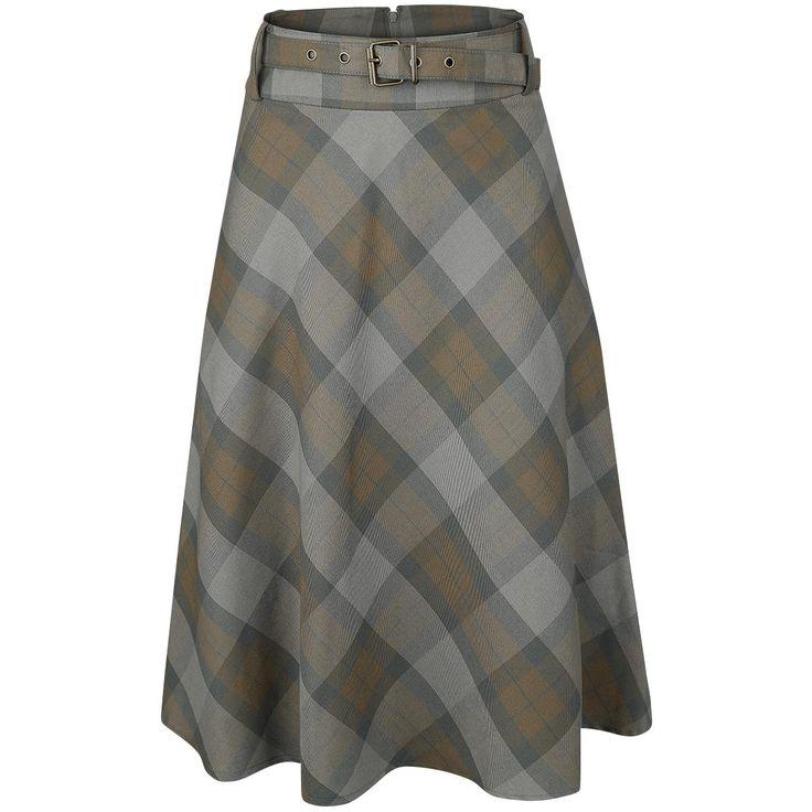 Tartan Full Circle Skirt