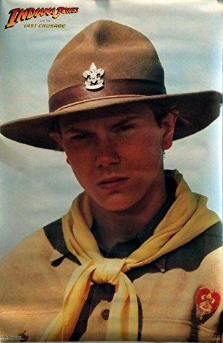 Indiana Jones 21x32 Last Crusade Movie Poster 1989 River Phoenix @ niftywarehouse.com #NiftyWarehouse #IndianaJones #GeorgeLucas #HarrisonFord #Movies