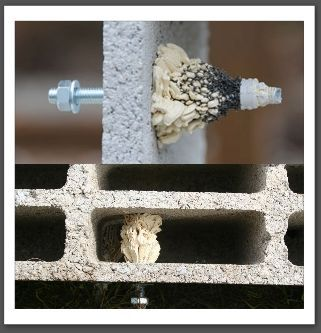 Cheville chimique pour les ancrages sur parpaings creux jardin pinterest parpaing - Cheville pour parpaing creux ...